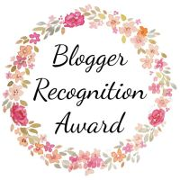 Blog Nomination | Bloggers Recognition Award